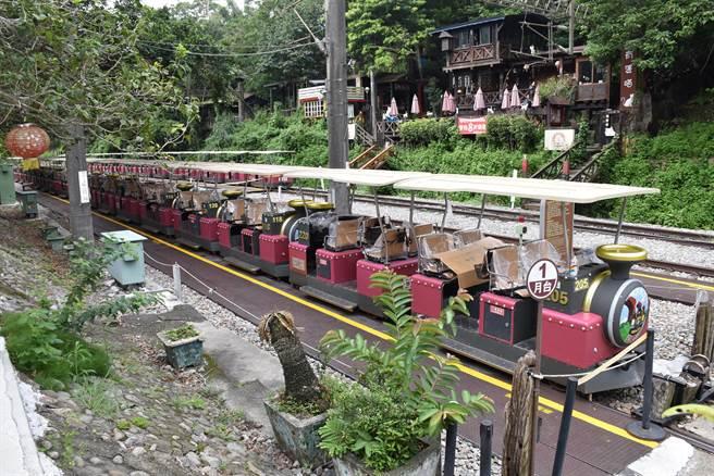 三義舊山線鐵道自行車原訂7月15日復業,再度延至7月23日復駛。(謝明俊攝)