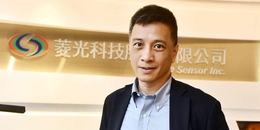 菱光科技董事長黃育仁。(圖/中時資料照)