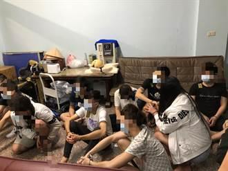鯊魚回流專詐在美WFH華人 北市警南台灣旅館逮20人