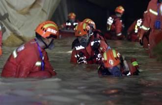 黃金搶救期已過 石景山隧道14人受困透水事故已3人罹難