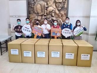 市議員林國春媒合企業 捐贈新北消防防護衣