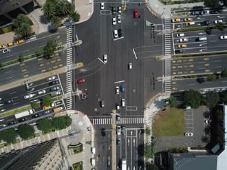 竹北市門面道路改善 將成示範道路