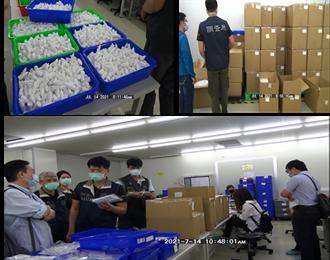 快篩試劑有假的!黑心代工廠搜出8萬劑冒牌貨 流入醫院、藥局