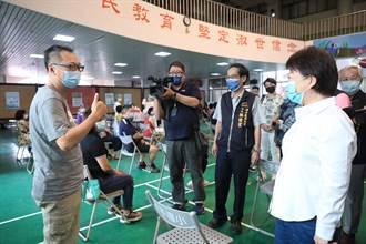 中市疫苗覆蓋率逾22.8% 盧秀燕宣布再開快打站助接種