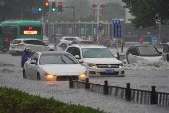 河南連日強降雨 鄭州部分停航停駛 登封市一工廠爆炸