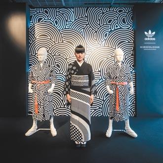 歌舞伎融入球鞋 運動品牌展現日本之美