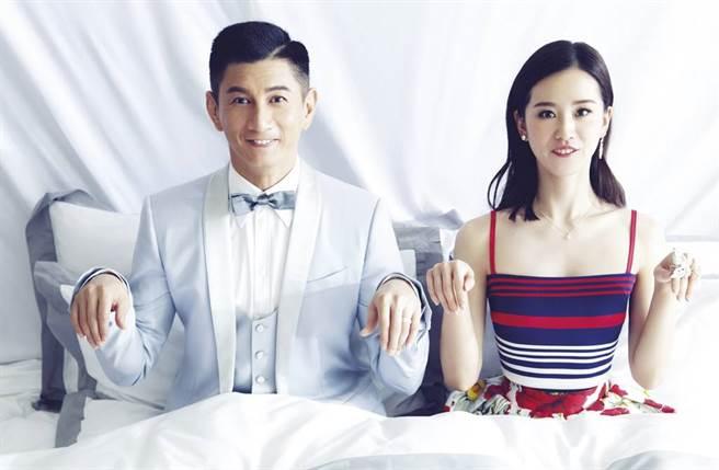劉詩詩和吳奇隆結婚6年恩愛如昔。(圖/本報系資料照)