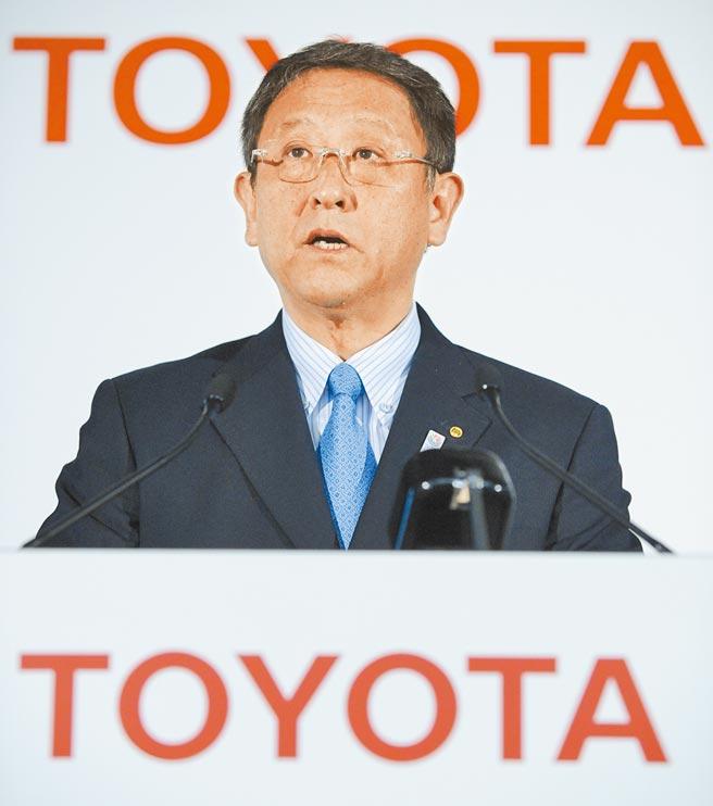 日本豐田汽車社長豐田章男將不出席東京奧運開幕式,該公司也決定東奧期間不在日本國內播放相關廣告。(新華社資料照片)
