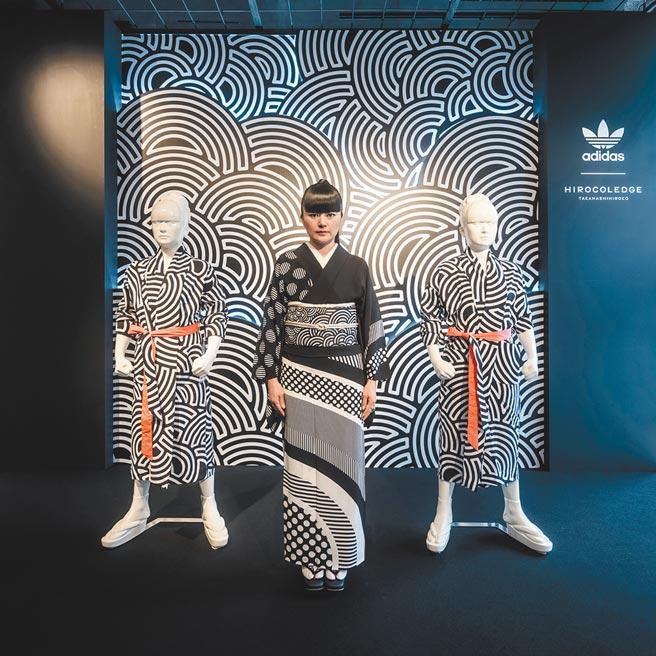 日本藝術家高橋理子首次與adidas聯名系列的89件單品,已在全球正式上市。( adidas提供)