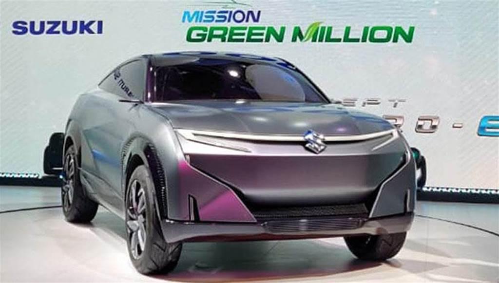 此為 2020 年 2 月 Suzuki 在印度車展上公開的電動概念車。