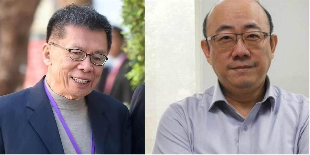 前民進黨立委沈富雄(左圖)、郭正亮(右圖)。(中時資料照、郭正亮提供)