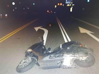 騎車載女友夜遊 18歲男路口自摔「撞對向車」慘死