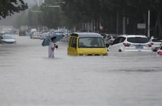 河南強降雨三天下一年雨量 千年一遇汛情已12死