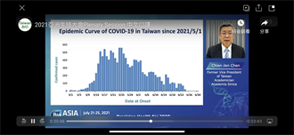 陳建仁:未來3個月台灣疫苗接種率須達65%