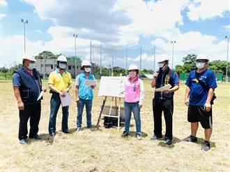 台中潭子簡易棒壘球場  8月底竣工開放以球會友