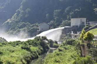 鯉魚潭水庫離滿水位僅剩2公尺多 21日首度排水