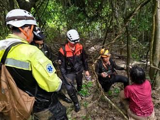 高雄婦登柴山迷路 歷經10小時大雨中獲救