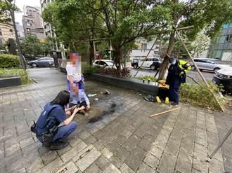 文山區當街砍人原因曝光 醋男疑妻外遇 怒持鐮刀砍小王