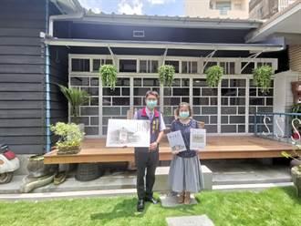 六甲公所「詩情畫藝」新書  展現36間古廟老屋建築特色