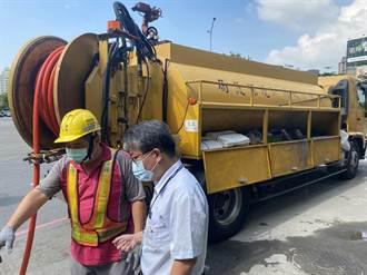 避免颱風釀災 台中環保局清疏456處積水路段