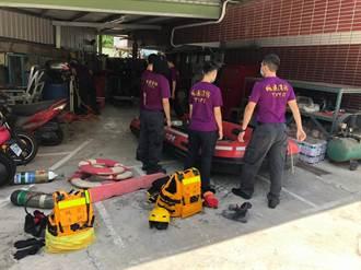 颱風逼近桃消防整裝戒備 籲疏通排水固定招牌
