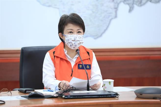 台中市長盧秀燕在防疫上的表現備受好評。(中時資料照/王文吉攝)