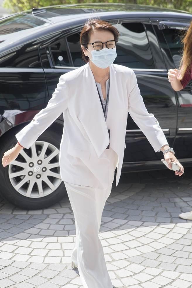 台北市副市長黃珊珊面對疫情的處置方式及態度,獲得許多市民認可。(中時資料照/杜宜諳攝)