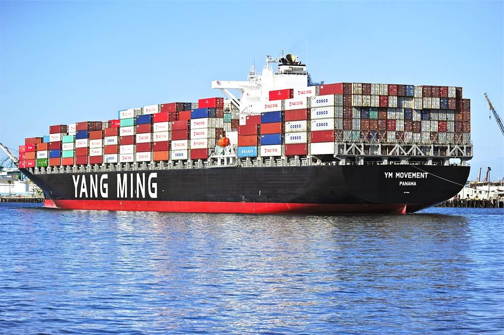 美出手審查9大貨櫃輪業者,長榮與陽明入列。(圖/shutterstock)