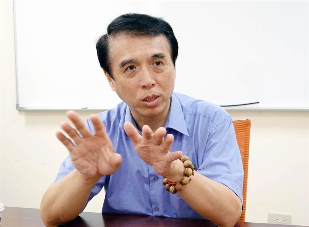 前藍委陳學聖。(中時資料照)