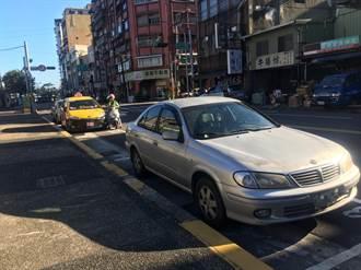 烟花颱風雨勢猛烈!北市5行政區晚間8時開放部分紅黃線停車