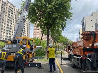 烟花颱風不容小覷  中市建設局開啟三級災害應變
