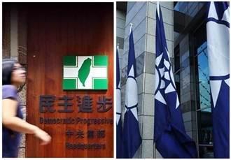 台灣5大政黨最新民調出爐 綠白雙降藍回升