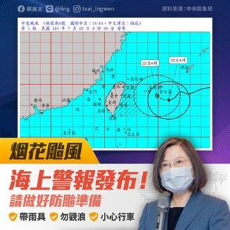烟花來襲 總統:極端氣候強降雨 多國已造成重傷