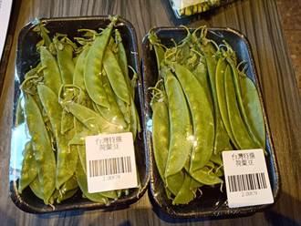 北市衛生局抽驗蔬果不合格率5% 荷蘭豆、大蒜驗出農藥超標