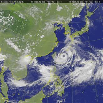 注意!烟花持續接近 雨勢風浪逐漸增強 北部海面浪高已逾5米