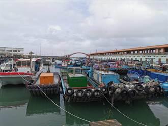 烟花直逼 竹圍漁港400船入港加強固定防颱