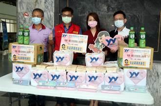 岡農疫苗接種站獲贈100個防疫愛心餐