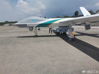 河南水患需要通訊 大陸翼龍無人機擔任飛行基地台