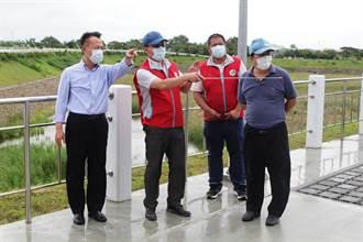 嚴防颱風 嘉縣23座滯洪池、抽水機防汛整備完成
