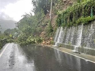 烟花豪雨來襲 新竹縣尖石、五峰鄉17校明停止上班上課