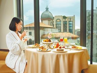 台北文華東方5折迎賓客房內享米其林
