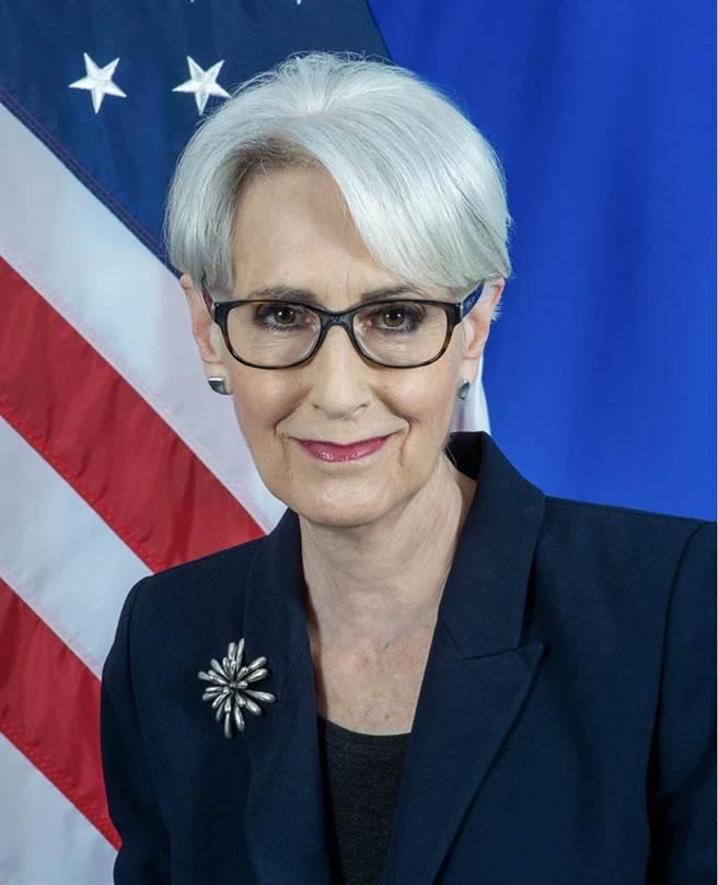 美國副國務卿雪蔓。取自美國國務院