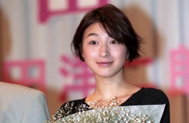 廣末涼子有著「20世紀最後一個美少女」的封號。(圖/中時資料照)