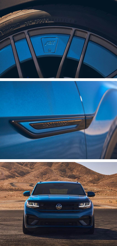 Volkswagen推出Atlas Cross Sport GT概念車 來自Golf R的精湛動力