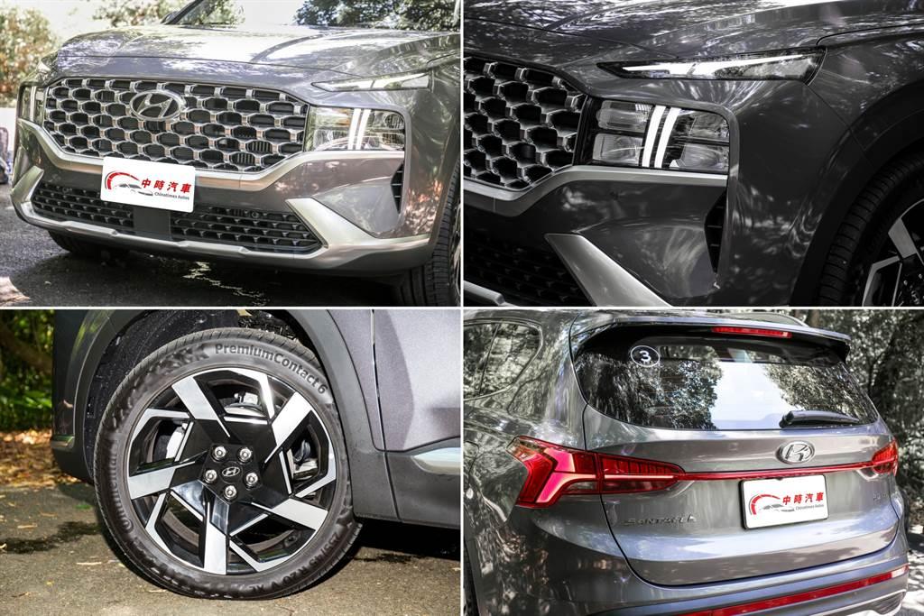 車頭為外觀改變最明顯之處,延續近年Hyundai前衛大膽的風格。