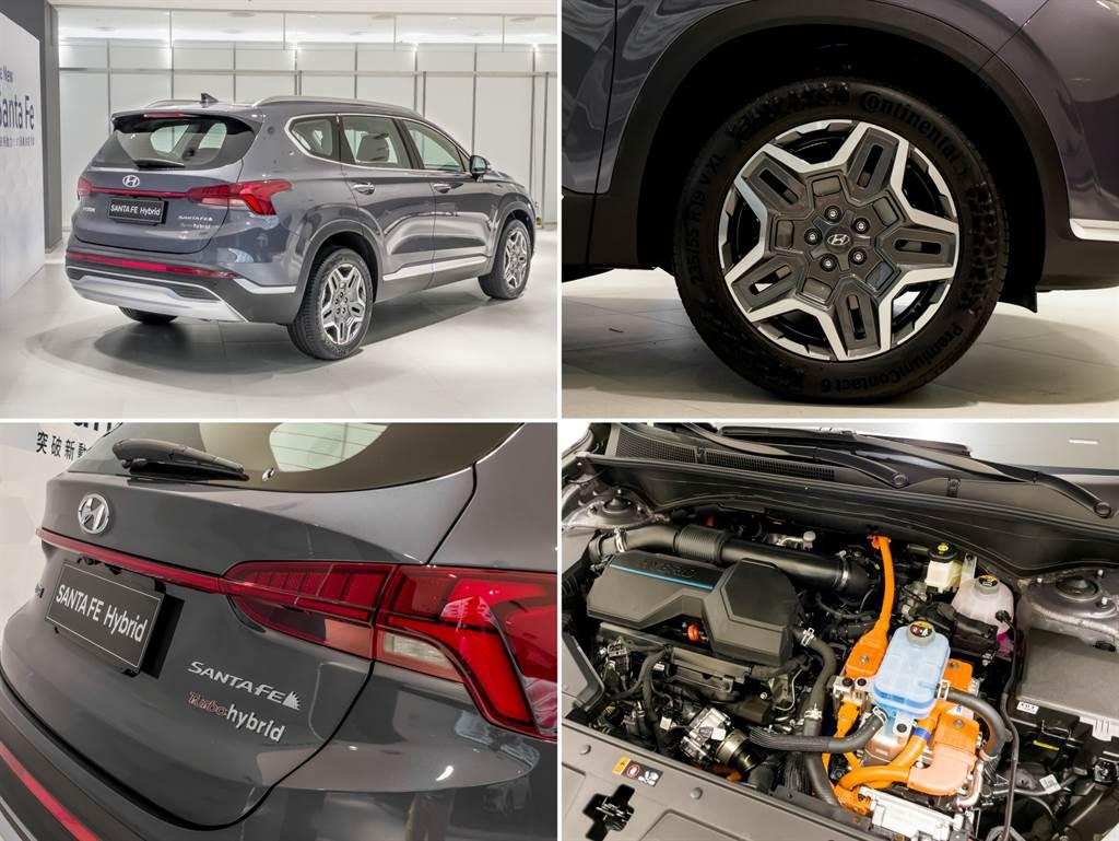 油電車型最令人期待的自然是其1.6T加上電動馬達的動力,不僅擁有230PS最大綜效馬力,據說油耗表現還比柴油車型更好,可說是性能、節能全都要!