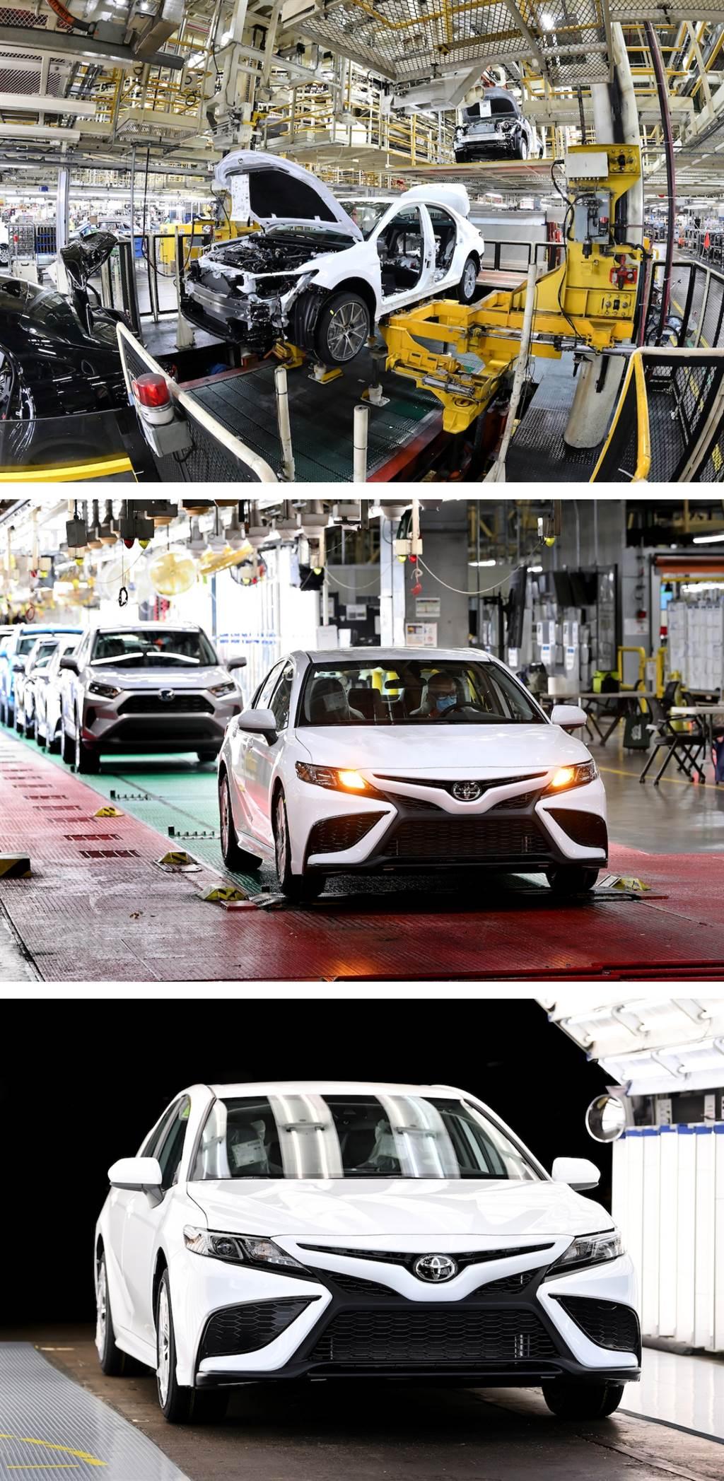 來自於肯塔基州的驕傲!Toyota 美規 Camry 生產突破 1000 萬輛!