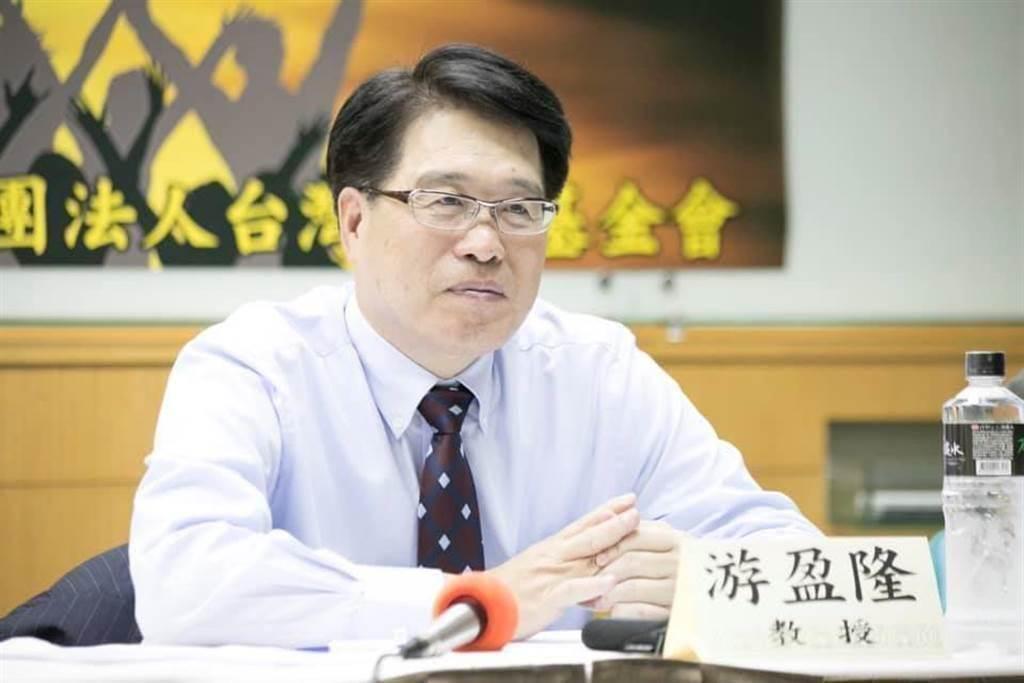 台灣民意基金會董事長游盈隆。(圖/取自游盈隆臉書)