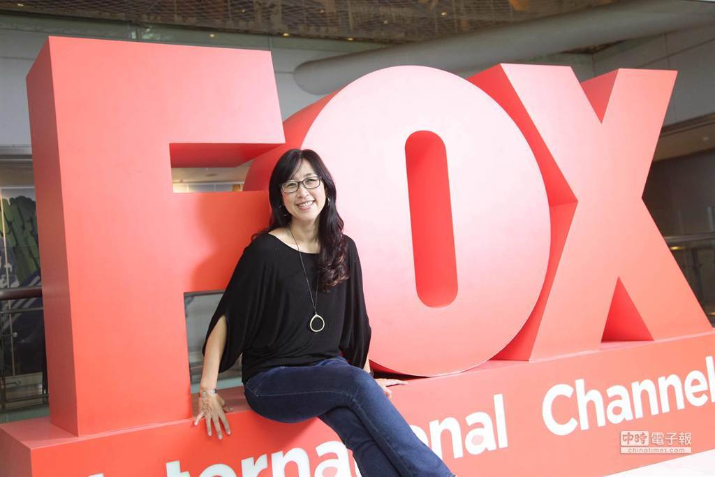 福斯(FOX)國際電視網台灣區暨中國區董事總經理蔡秋安。(FOX提供)