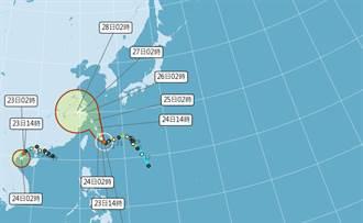 「已故」颱風恐死而復活 超複雜天氣又添變數